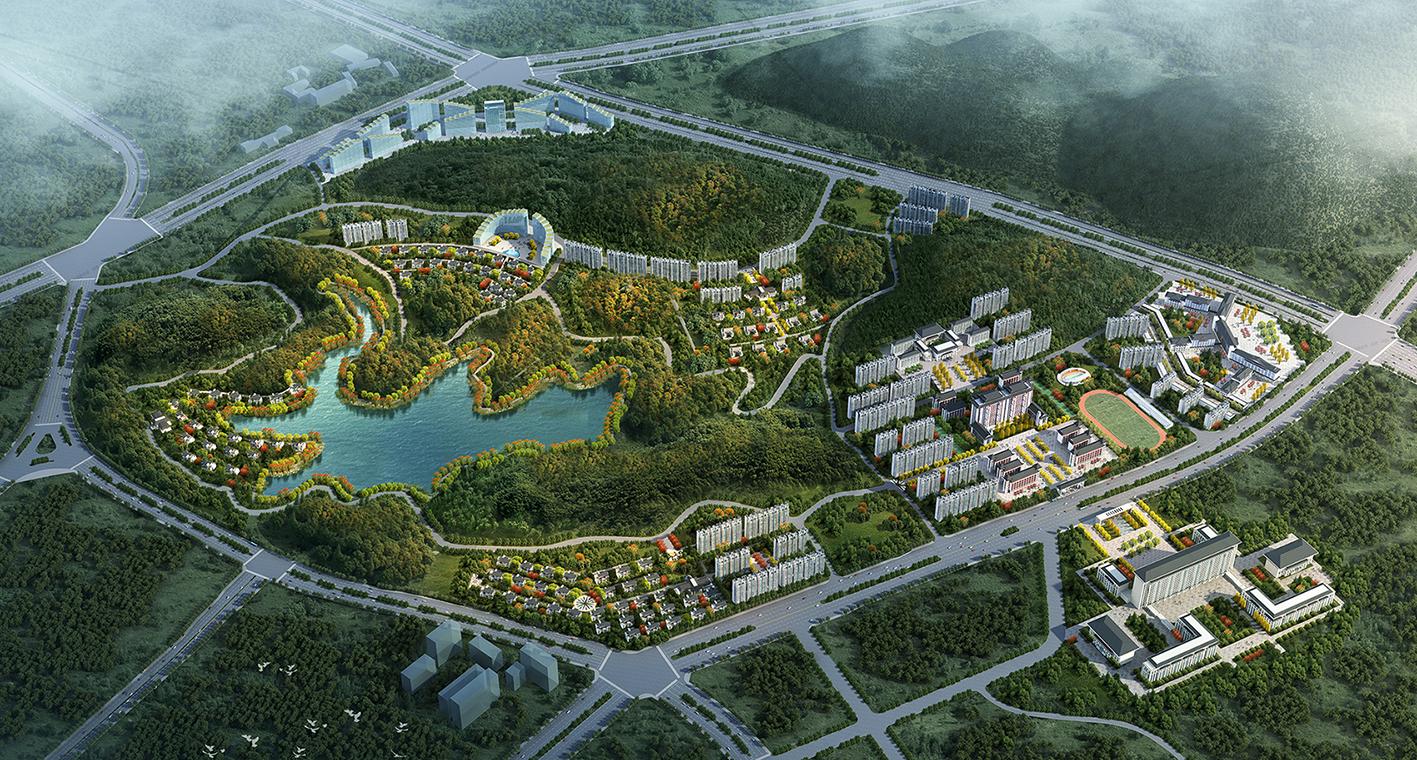 贵州义龙新区国际教育文旅康养产业基地概念规划