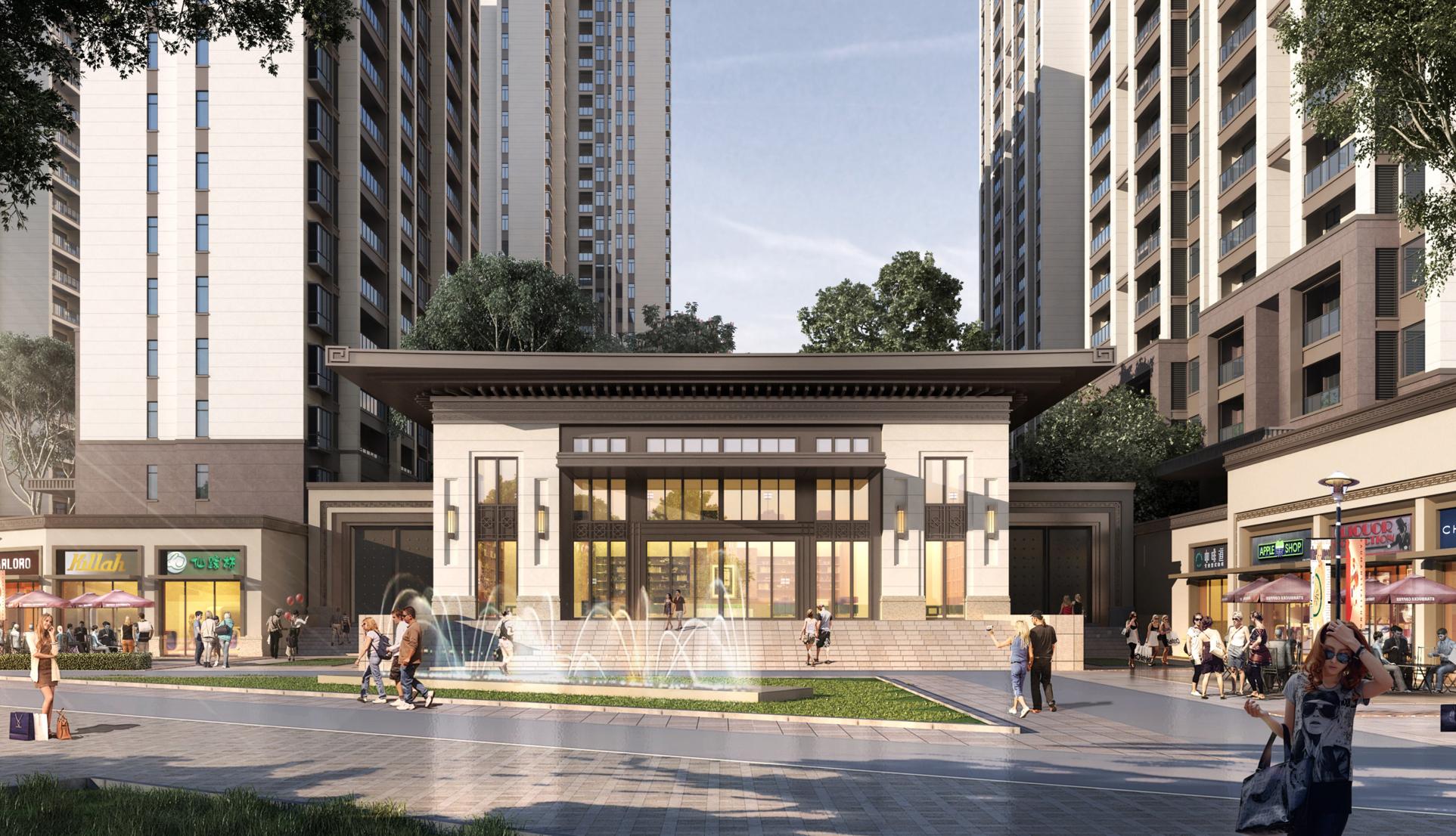 湘乡市东山新城居住区修建性详细规划